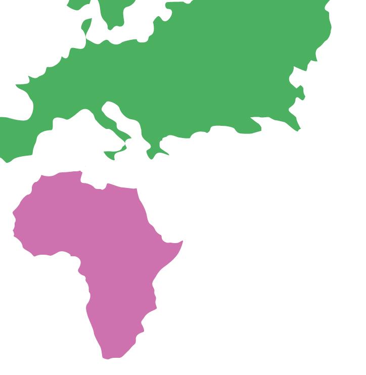 carte afrique europe